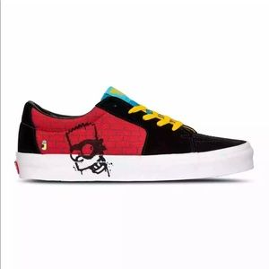 The Simpsons X Vans SK8-Low Bart Simpson